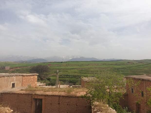 традиционные берберские семьи проживают сейчас в горах Атласса, на юге Марокко