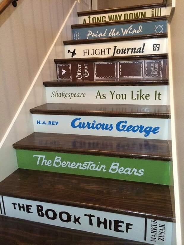 Библиотечные лестницы? (подборка)