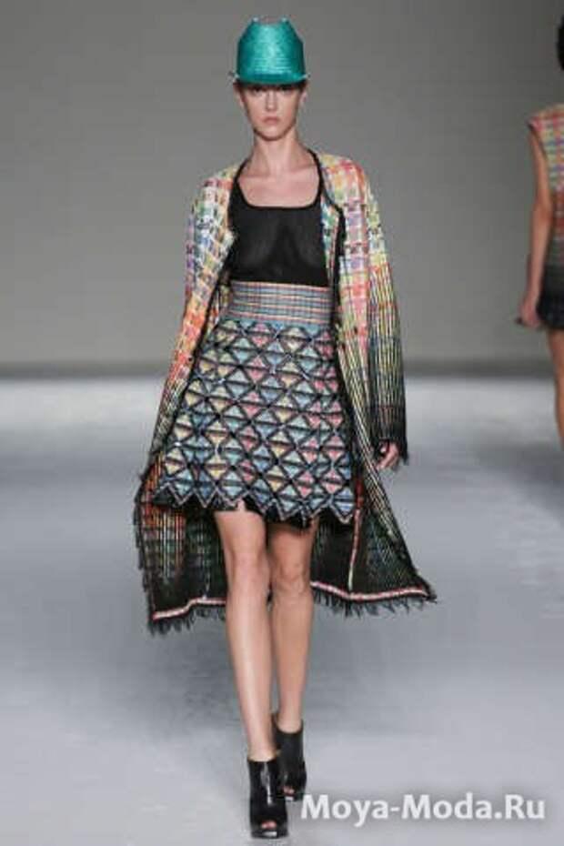 Модные юбки весна-лето 2015 Marco de Vincenzo