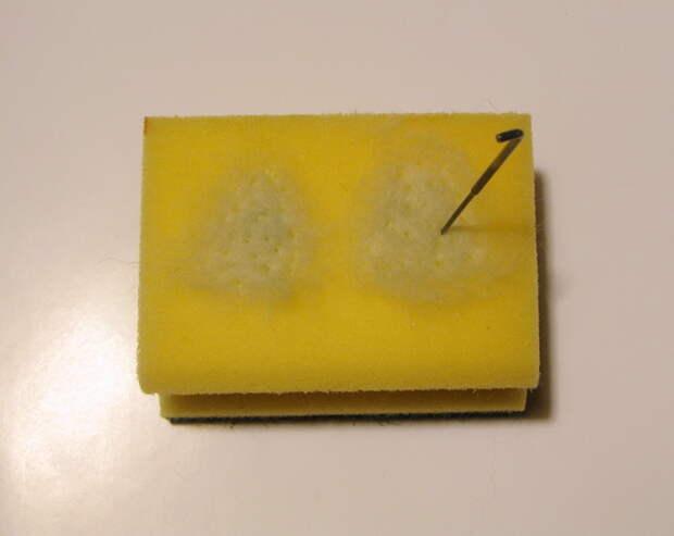 Магнит на холодильник (валяние). Мастер-класс Елены Смирновой