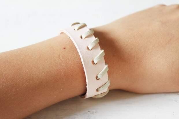 Как сделать простой и стильный браслет в стиле минимализм