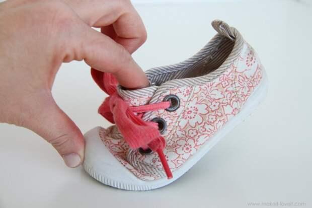 как сделать чтобы шнурки не развязывались