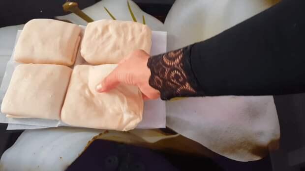 Ароматные и простые в исполнении слоистые лепешки на кипятке