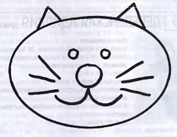 Вязаный детский свитер с котенком 5