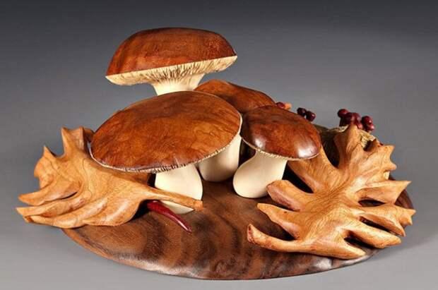 Удивительные вещи из дерева (19)