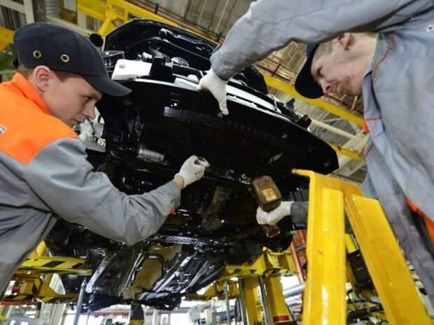 Правительство выделило автопрому антикризисные 10 млрд рублей