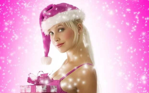 Новый год лучше всего встречать в костюме Снегурочки... Улыбнемся)))