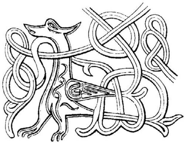 Иранский Симург и славянский Симаргл