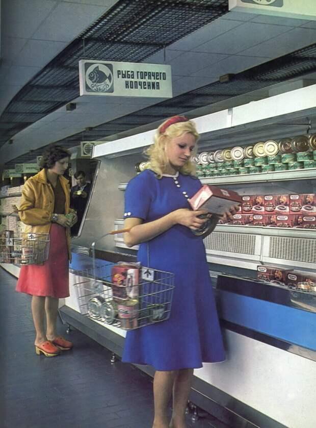 Советская торговля. Раритетные снимки