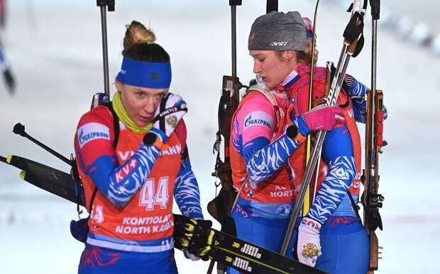 Российские биатлонистки Миронова и Казакевич выступят в масс-старте на чемпионате мира