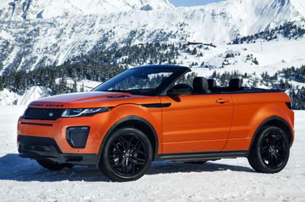 Оператив ЗР: Range Rover Evoque Convertible — он такой один