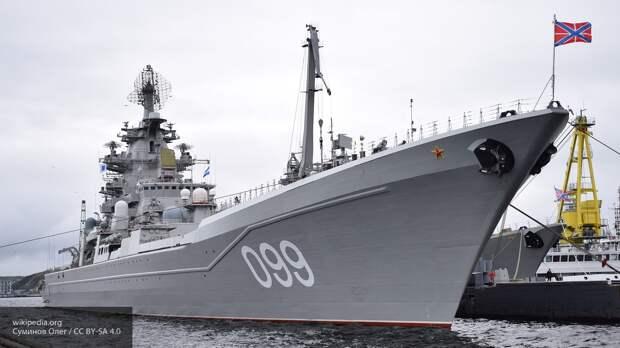 В России рассказали, почему в США боятся ракетного крейсера «Петр Великий»