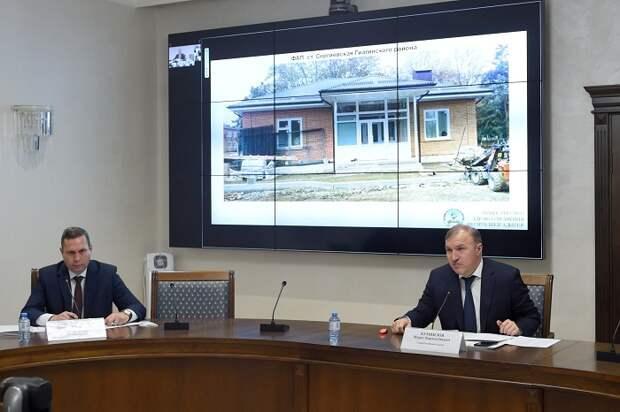 В рамках нацпроекта «Здравоохранение» в Адыгее ведется строительство 23 ФАПов