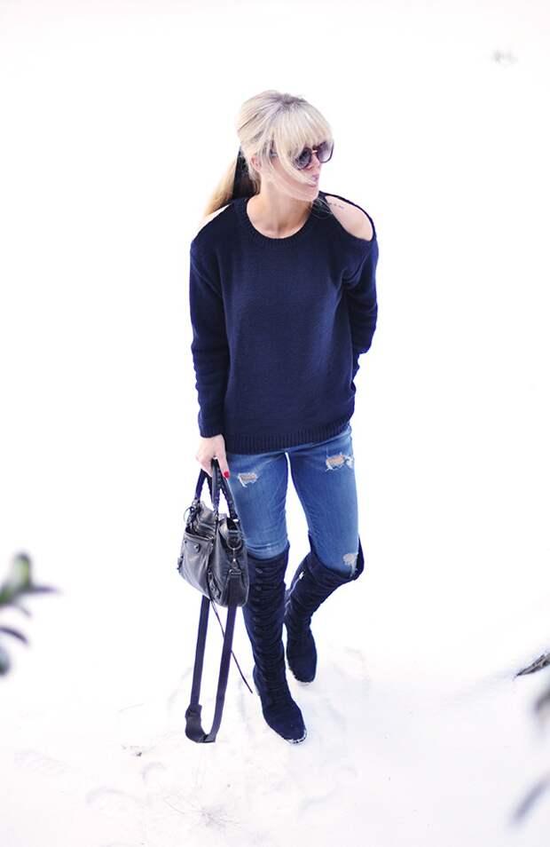 Пикантный свитер (Diy)