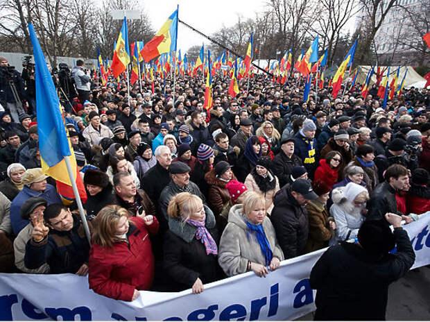 В Молдавии разгорается первый на просторах СНГ антиамериканский майдан