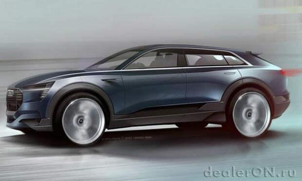 Audi планирует полностью электрический кроссовер для борьбы с Tesla Model X