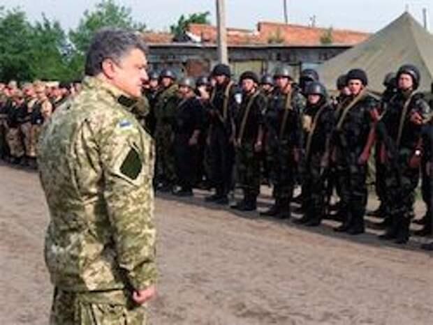 Новость на Newsland: Порошенко: поднять украинский флаг над горсоветом Славянска
