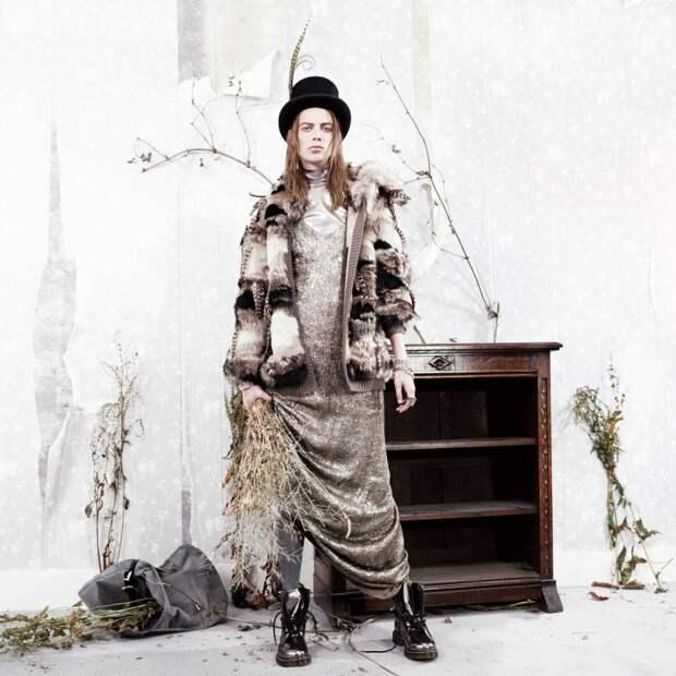 Мальчиково-девочковое (W Magazine  September 2015)
