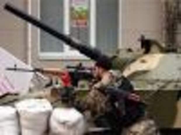 Очевидцы сообщают о масштабном столкновении под Луганском