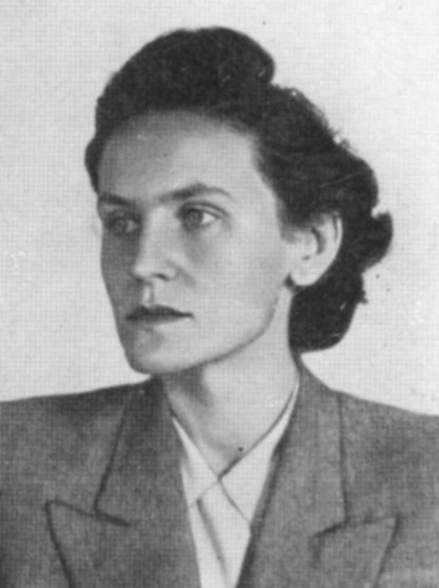 Немецкая коммунистка и борец с нацистским режимом Ильза Штебе.