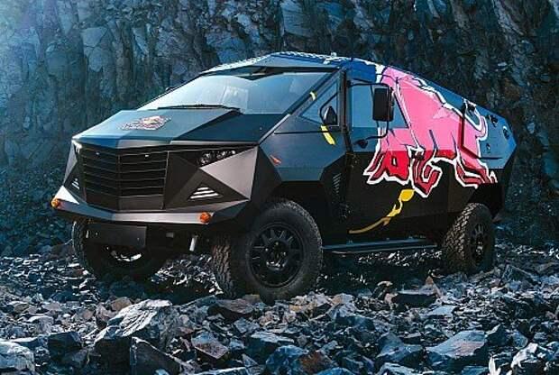 Убойное шоу: Land Rover Defender обернулся вэном-истребителем