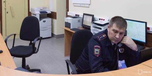 Женщина ударила головой полицейского в Анадырском проезде