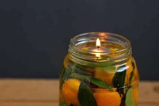 Масляная свеча за 2 минуты, которая будет гореть невероятно долго
