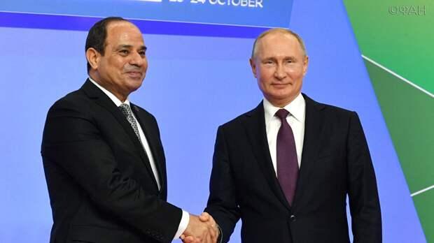 Египет остается стратегическим партнером России в Африке