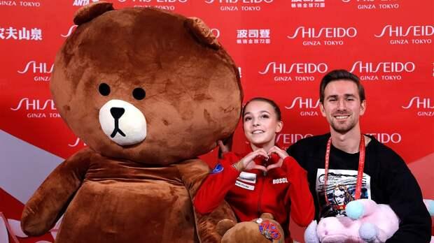 «Медведь был больше нее вдва раза». Русская фигуристка Щербакова покорила китайскую публику