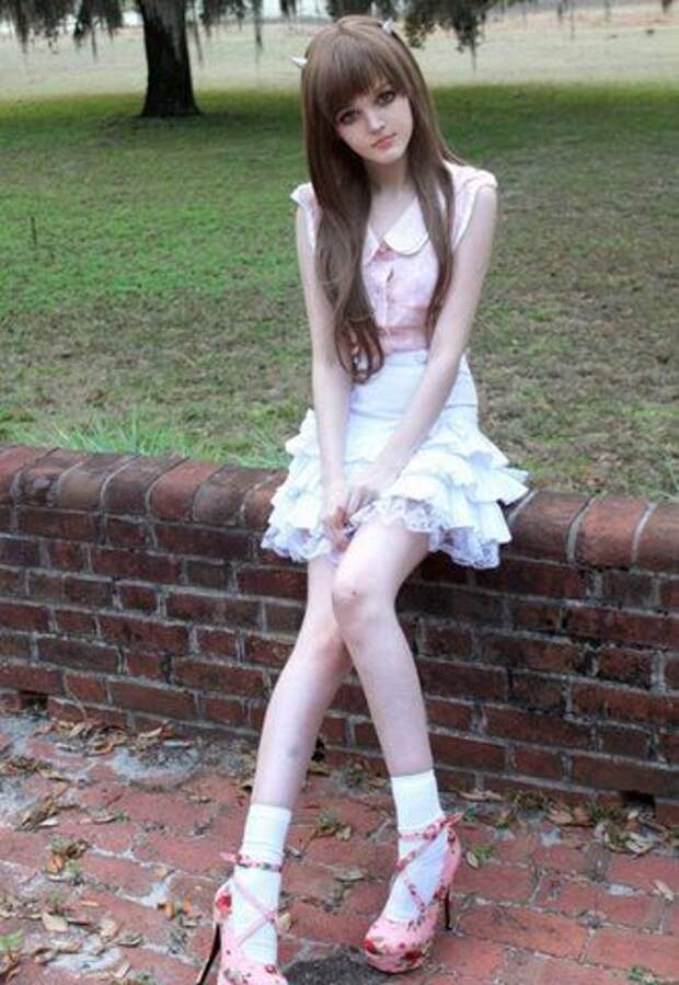 Кукла Барби во плоти (7 фото)