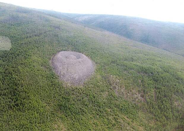 Таинственный Патомский кратер