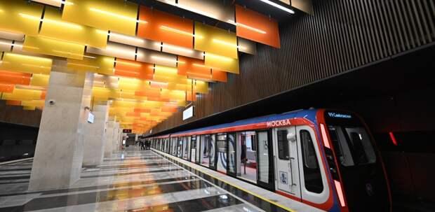 Собянин провел техпуск участка БКЛ метро от «Проспекта Вернадского» до «Каховской»