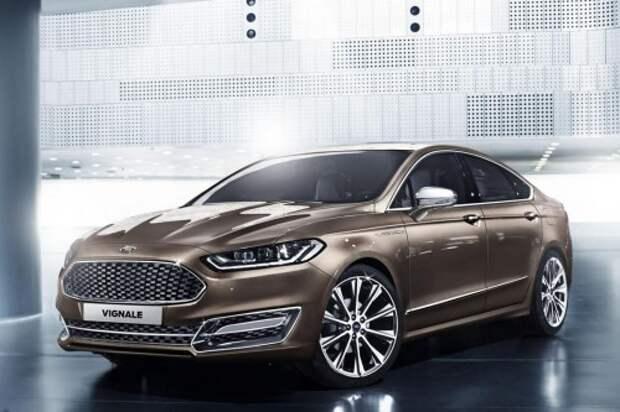 Форд может выпустить Kuga и Galaxy Vignale