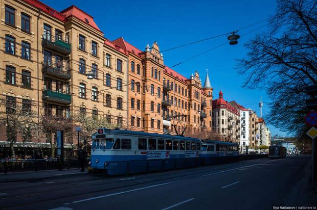 Общественный транспорт в Гётеборге, Швеция