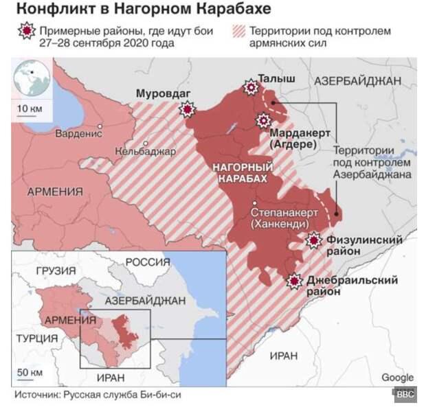 Нагорный Карабах. Тотальной войны не будет