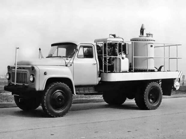 Немного ностальгии, самый массовый Советский грузовик ГАЗ 53