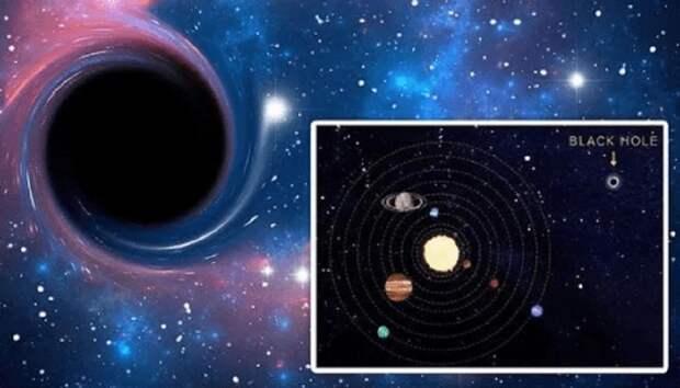 Официалы говорят, что черная дыра в Солнечной системе может вызвать «ужасные последствия»