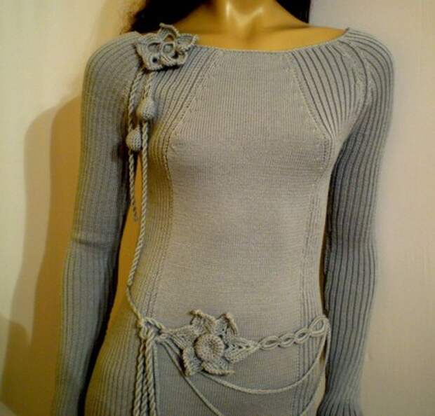 Платья ручной работы. Ярмарка Мастеров - ручная работа платье П-7. Handmade.