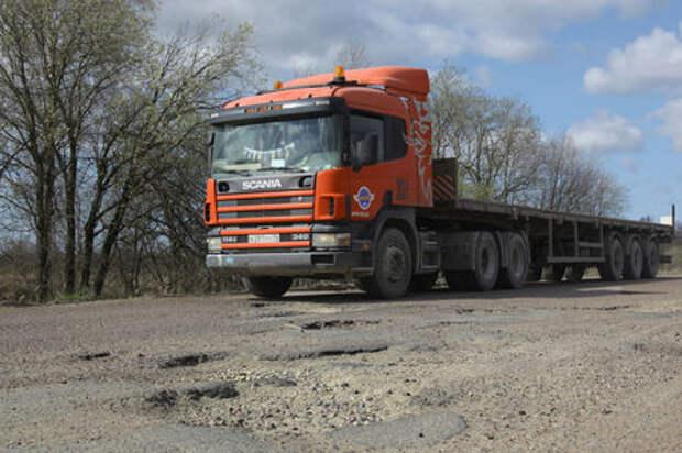 Грузоперевозчики сами смогут выбрать дороги, нуждающиеся в ремонте