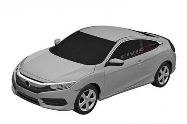 Рассекречен новый седан Хонда Сивик