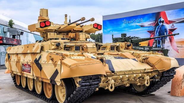 Отечественный БМПТ «Терминатор» покорит международный рынок вооружения