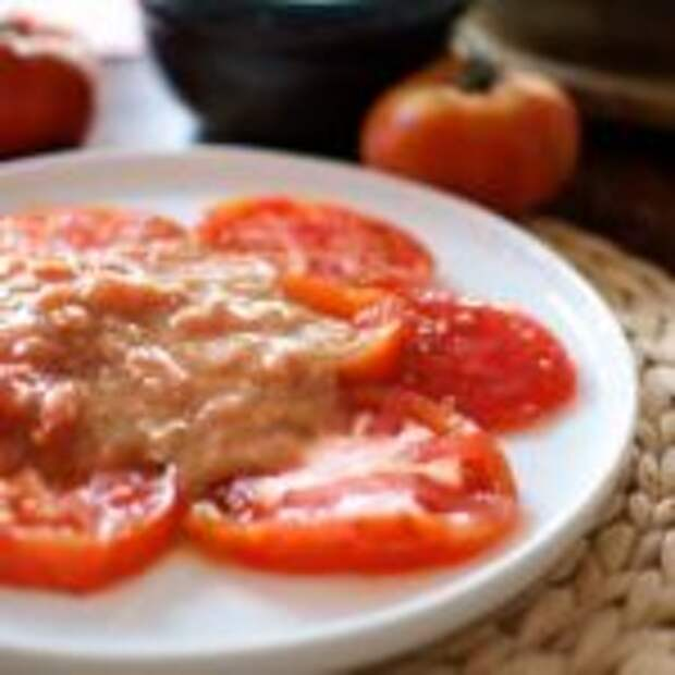 Ахотомате — помидоры с чесноком по-испански