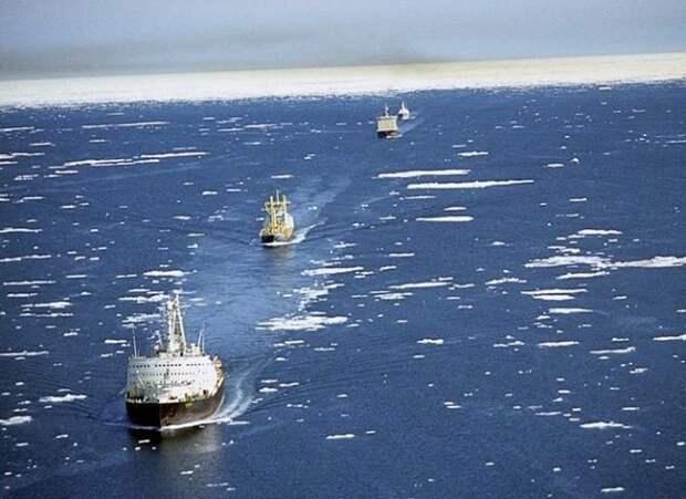 Исключительное право на перевозку нефти по СМП могут получить российские корабли