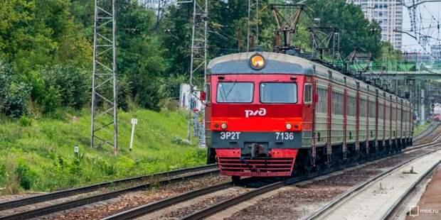 Часть электричек, следующих через станцию «Беговая», перейдут на новое расписание