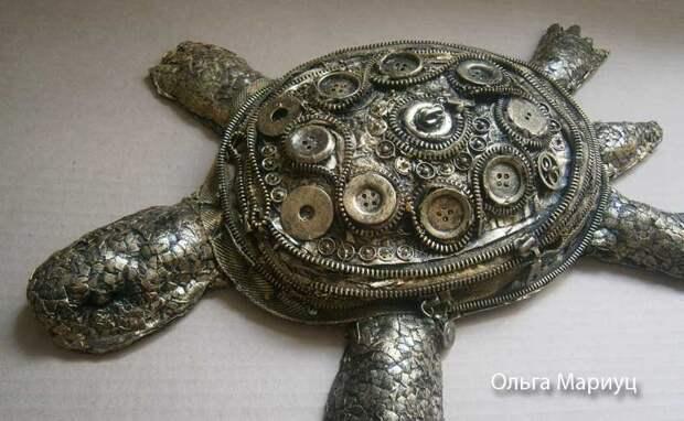 Черепаха стимпанк МК