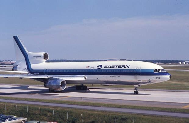 Авиакомпания «Восточные авиалинии» Lockheed L-1011-385-1 TriStar, N310EA, авиалайнер, разбившийся 29 декабря 1972 года. (Фотография © Jon Proctor. Используется с разрешения.)