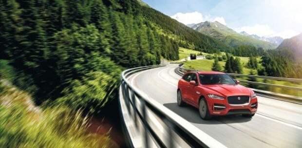 Jaguar представил кроссовер F-Pace