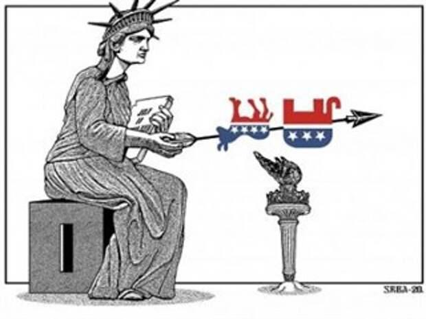 Если бы США увидели, что США делают в США, США вторглись бы в США, чтобы освободить США от тирании США