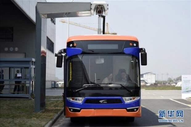 Инновационная зарядка для электроавтобусов