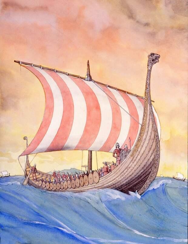 Средневековая Скандинавия на иллюстрациях французского археолога Jean-Claude Golvin